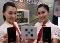 LG представила первый в мире мобильный LTE-чип для модема