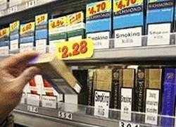 Сигареты в Англии будут продавать из-под прилавка