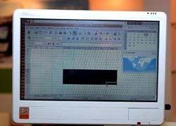 Вышел ультрамобильный компьютер на базе Intel Atom
