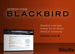 Браузеры: Blackbird - новости для негров, Gloss - для женщин