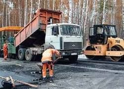 Минтранс отправит безработных на ремонт дорог