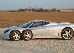 Шестиколесный спорткар Covini C6W будет запущен в производство