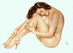 Как появилась эротическая открытка?