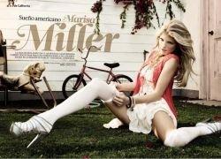 Мариса Миллер снялась для DT Magazine