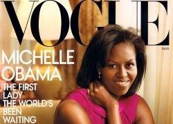Первая леди США Мишель Обама на обложке журнала Vogue