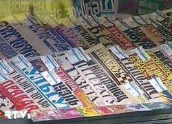 Каждое десятое печатное СМИ в мире сократит тираж или закроется