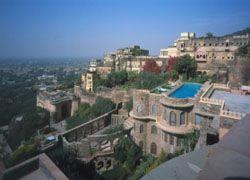 Крепость в Индии можно осмотреть с высоты птичьего полета