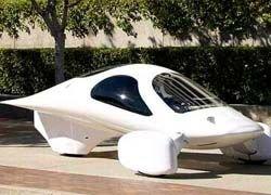 В США создан трехколесный электромобиль
