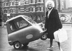 Peel P50 - самый маленький серийный автомобиль в мире