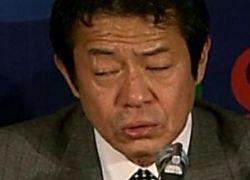 Японский министр был пьян?