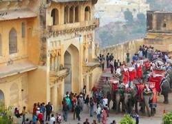 Cтена средневековой индийской крепости не выдержала съемок боевика