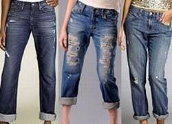 Женские джинсы становятся гермафродитами