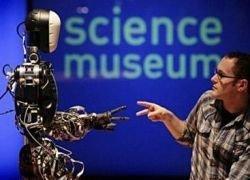 Лондонский Музей наук представил нового сотрудника - робота