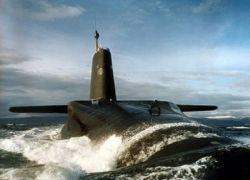 Столкновения французской и британской атомных подводных лодок в Атлантическом океане