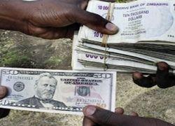 Госслужащие Зимбабве начали получать зарплату в американских долларах