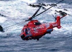 Вертолет с 18 пассажирами на борту упал на воду в Северном море