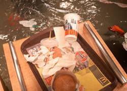 Датчане утопили McDonald\'s во имя искусства