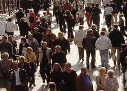 Численность населения России сократилась за прошлый год на 121,4 тыс.