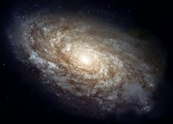 Галактики способны формироваться без темной материи