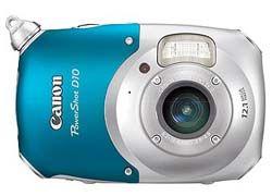 Canon выпустил свою первую водонепроницаемую камеру