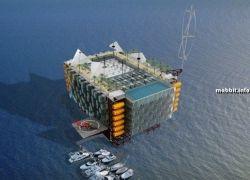 Ненужные нефтяные вышки превращаются в фешенебельные гостиницы