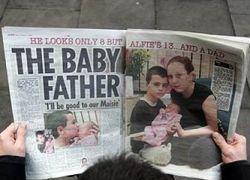 Британский суд запретил писать о 13-летнем отце