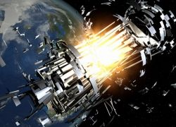 Космический мусор: эволюция в картинках