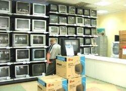 Телевизоры перестали покупать