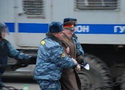 """Ветераны проведут шествие у Кремля вопреки \""""запрету\"""""""