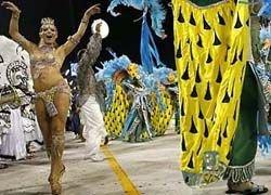 На карнавале в Рио-де-Жанейро грабят туристов