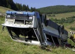 В Словакии автобус столкнулся с поездом, погибло 11 человек