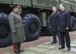 Медведев рассказал о военных планах России
