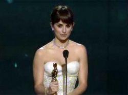 Оскар 2009: Пенелопа Крус - лучшая женская роль второго плана