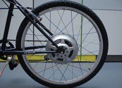 Изобретен электродвигатель для велосипеда - GreenWheel