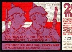 Коллекция немецких поддельных денег 1920-30-х годов