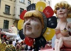"""В Германии прошел карнавал \""""Бешеный понедельник\"""""""