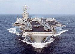 Авианосец ВМС США отправился на борьбу с пиратами