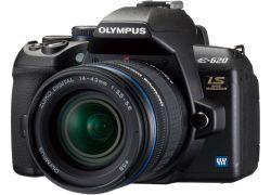 Olympus E-620 — самая маленькая в мире зеркальная камера