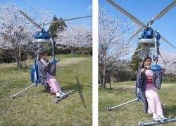 Самый маленький в мире одноместный вертолет