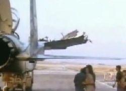 Израильский пилот посадил F–15 с одним крылом