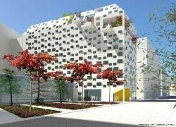 Студенческое общежитие в Париже