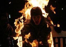 В Пекине три человека устроили акт самосожжения