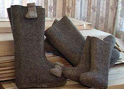 Кризис уничтожил производство валенок в Белоруссии