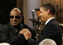 Обама наградил Стиви Уандера премией Гершвинов