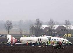 Крушение самолета в Амстердаме