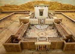 Миниатюрная модель иерусалимского храма