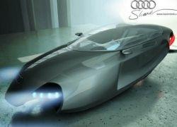 Летающий концепт Audi Shark