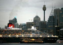 Queen Mary II - cамый крупный и дорогой в мире круизный лайнер