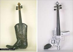 Музыкальные инструменты-гибриды от Кена Батлера