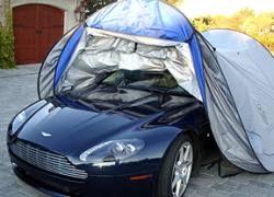 Изобретен новый способ хранения авто во дворе дома